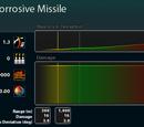 Corrosive Missile