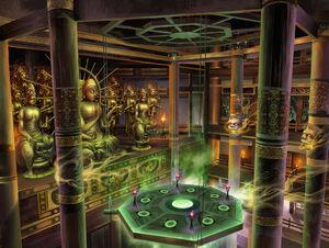 Underground Bhuddhist Sanctum