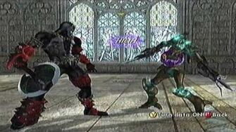 SoulCalibur II Xbox Spawn's Command List
