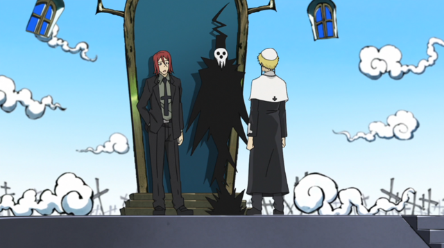 File:Soul Eater Episode 31 HD - Death instructs Justin 2.png