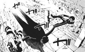 Chapter 52 - Mosquito drags both Kid and Free through walls