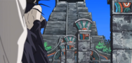 Soul Eater Episode 34 - Arachne escaping Lost Island