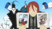 Soul Eater Episode 15 - Spirit shows Kid weapons
