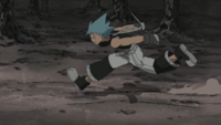 Soul Eater Episode 45 HD - Black Star runs to Baba Yaga (1)
