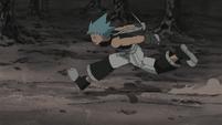 Soul Eater Episode 45 HD - Black Star runs to Baba Yaga (1)