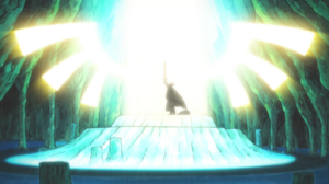 Soul Eater Episode 17 HD - Ox gains Excalibur wings of light