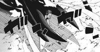 Chapter 103 - Asura's scarves bounce off of Noah.