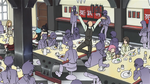 Soul Eater Episode 37 HD - Ox brags in dining hall