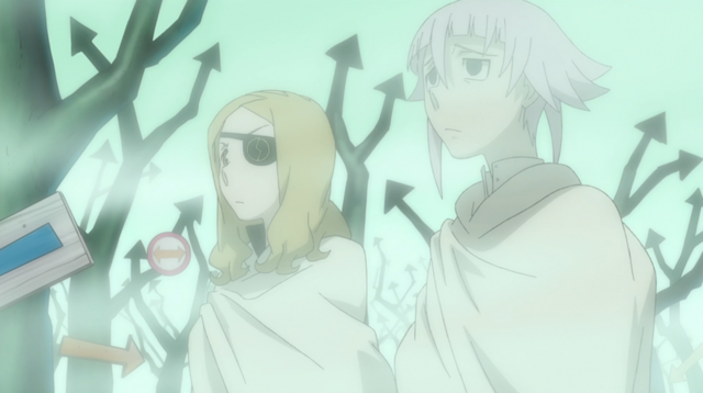File:Soul Eater Episode 44 HD - Marie and Crona find Medusa's Lair.png