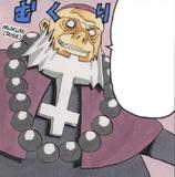 Rasputin Manga colored
