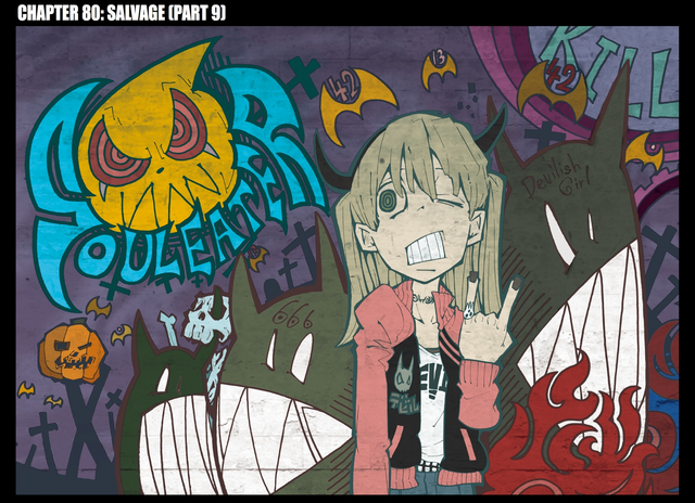 File:Soul Eater Chapter 80 - Cover.png