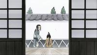 Episode 11 - Masamune and Tsubaki as kids