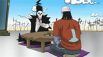 Soul Eater Episode 37 HD - Lord Death and Sid speak