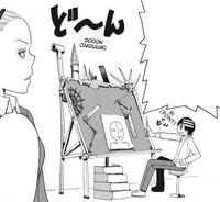 Soul Eater Chapter 12 - Kid diagrams Liz's eyebrows