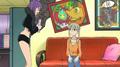 Soul Eater Episode 14 - Maka and Soul's living room