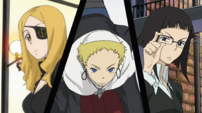 Soul Eater Opening 2 - Marie, Justin, Azusa 1