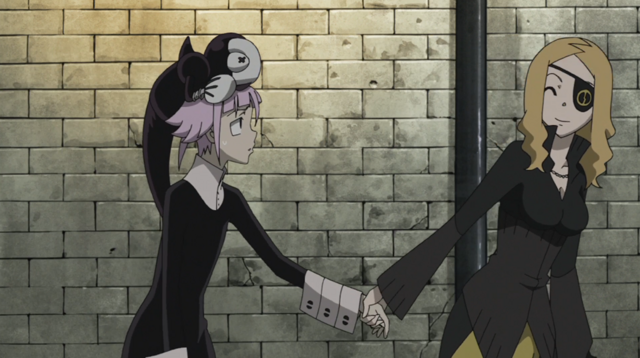 File:Soul Eater Episode 31 HD - Marie finds Crona 3.png