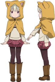 Kana Altair Not! anime design