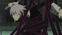 Soul Eater Episode 44 HD - Medusa and Stein face Marie and Crona (91)