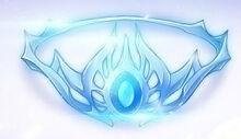 Blue Silver Crown