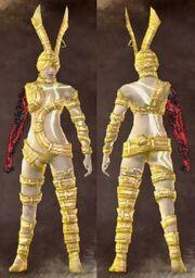 Gold Female Conjurer