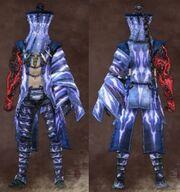 Blue Male Stranger