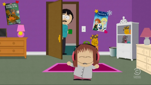 File:Gotg and Frozen Poster in Shelly's Room.png