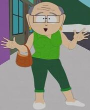 from Landen south park gay teacher mr