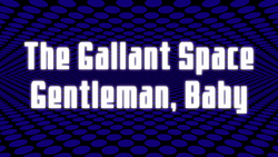 Space Dandy Episode 19 Title Card