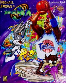 Space Jam - Look and Find