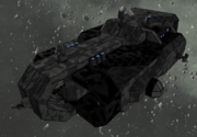 Military Transporter isometric
