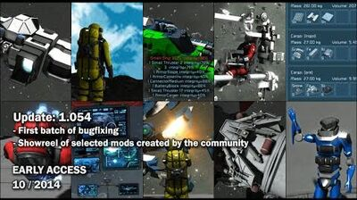 Space Engineers - Bugfixing 1, Mods compilation