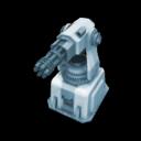 Icon Block Gatling Turret