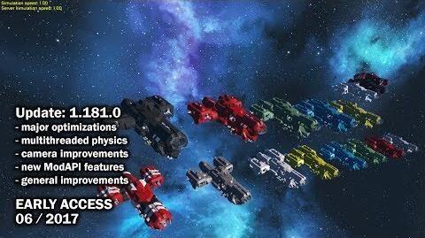 Space Engineers - Update 1.181