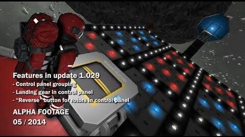 Space Engineers - Grouping items in Control Panel