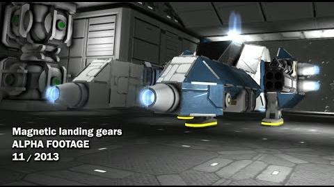 Magnetic Landing Gears Video