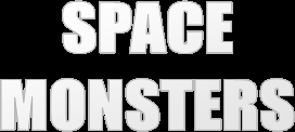 Space Monsters title logo