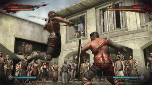 Spartacus Legends fight