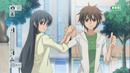 Hikari and Tadashi taking a picture..