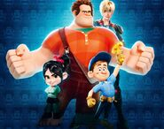 Wreck it Ralph promotion