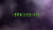 Species III Title Screen