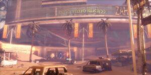 Zahrah Mall Entrance