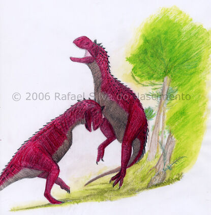 Patagonian dragon colored by rsnature