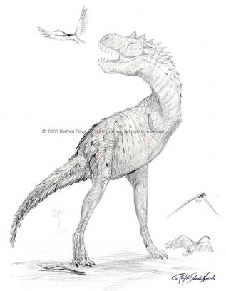 Cenozoic abelisaur by rsnature