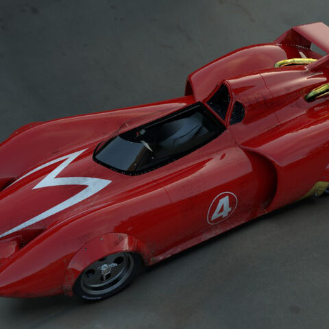 Mach 4, as seen in the live-action film