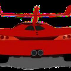 Velocity's vehicle rear