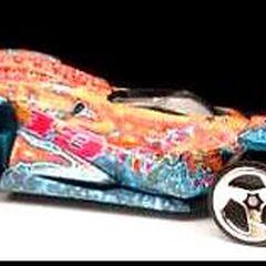 Prince Kabala race car with saw blades