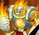 Hotiron Skeleton
