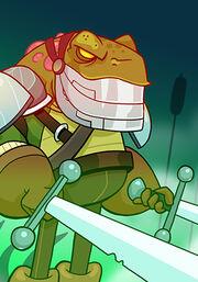 Frog Warrior B