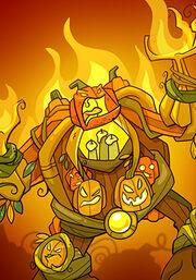 Burning Golem B